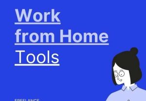 Get work from home jobs by posting a service online