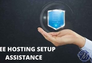 Free hosting buying & setup assistance for a website